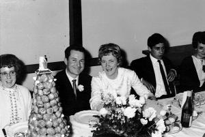 Mariage Bernard Picard et Jocelyne